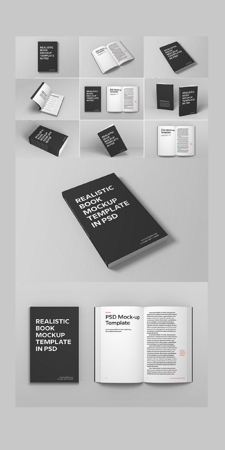 Photoshop Soft Cover Book Mockups Book Design Templates Free Mockup Book Photoshop Book