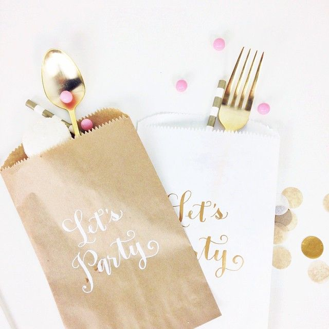 super cute party favor bags