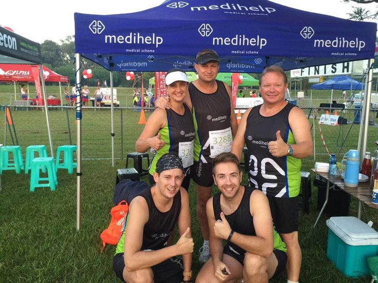 Medihelp MultiSport Club ready to take on the McCarthy Toyota race on 6 February.