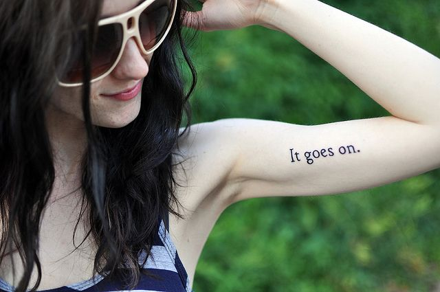 Cute tattoo.: Tattoo Placements, Quotes Tattoo, Robert Frostings Quotes, Art Tattoo, Side Tattoo, Tattoo Pictures, A Tattoo, Senior Quotes, My Style