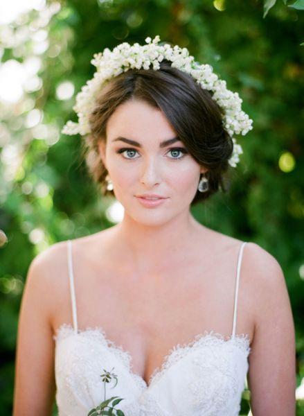 Corone floreali per la sposa: un tocco etereo al tuo bridal look Image: 7