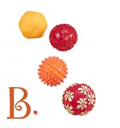 B.Toys Piłki Sensoryczne Oddballs https://pulcino.pl/btoys/456-btoys-pilki-sensoryczne-oddballs.html