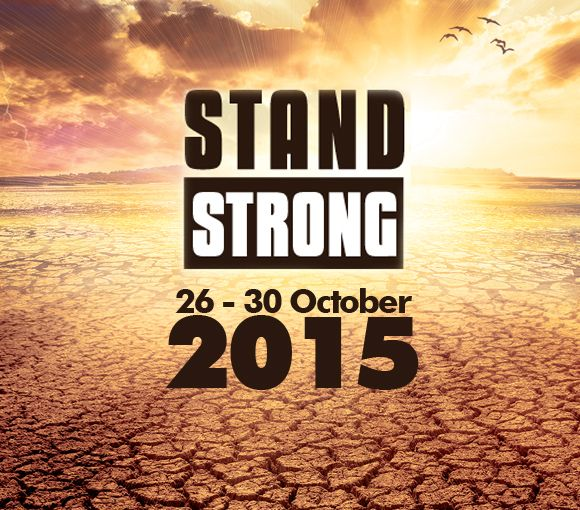 The Stand Strong event purposes to be the oasis in the desert, the strength for the weak and the light at the end of the tunnel.  The message of this event is simple: with God at your side the previous impossibilities become possible! 1 Corinthians 15:58  Tune in to the Live Stand Strong Broadcast 26 to 30 October 2015 on Faith Africa