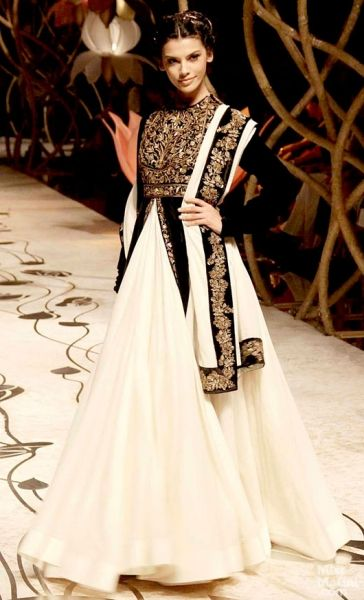 Rohit Bal. Indian Bridal Fashion Week, 2013 -- jacket with jacquard print #unique