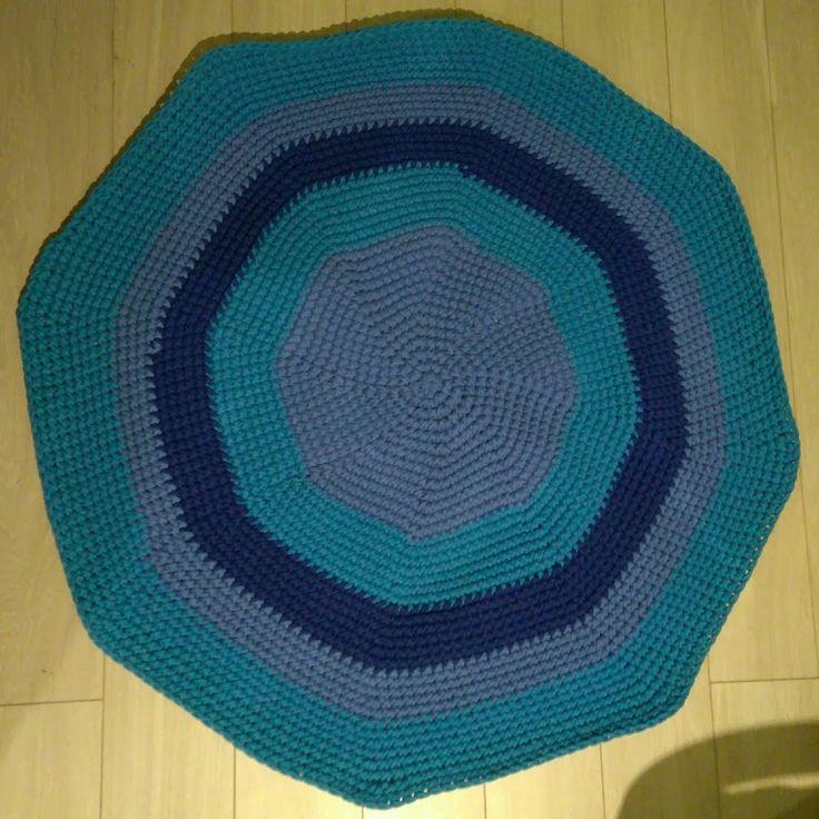 Dywan ze sznurka bawełnianego - 120 cm