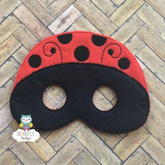 Máscara de Mariquita niños vestido de máscara máscara de