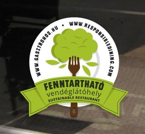 Ezt keresd a vendéglátóhelyek ajtaján! / Look for this sticker on the restaurants' doors!