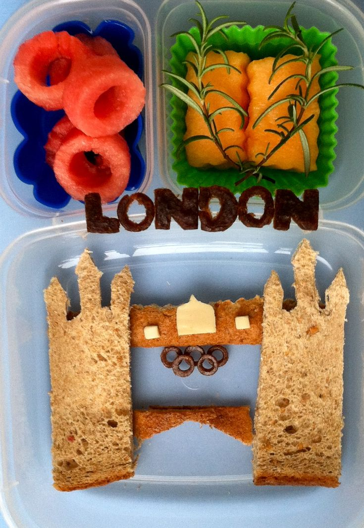 London Bridge-Olympic themed lunch  @EasyLunchBoxes, @Olympics, @bento, @lunchboxBento Lunches, Blog Hop, Bento Boxes, London Bento, London Lunches, Lunches Boxes, London Olympics, Inspiration Pack, London Bridges