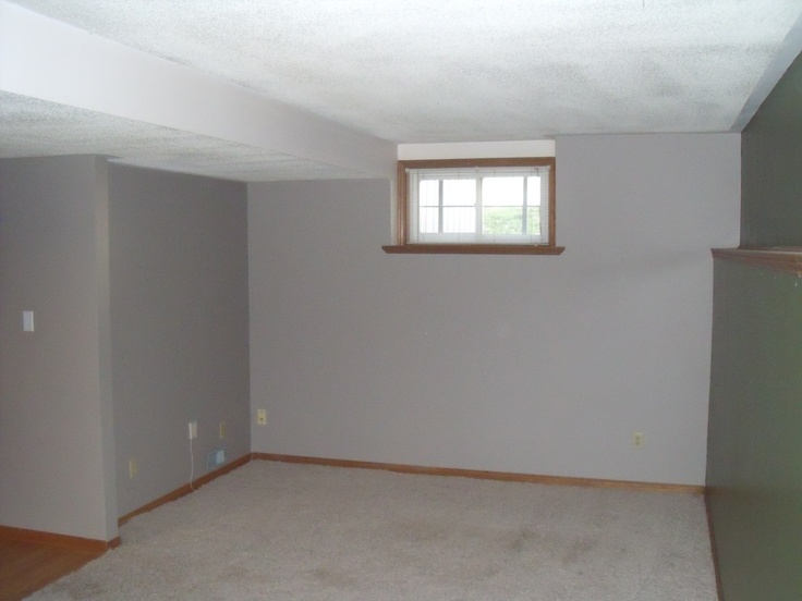 Lower level recreation room or a large master bedroom