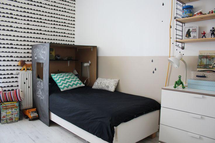Les 277 meilleures images propos de ideias quartos for Papier peint chambre garcon