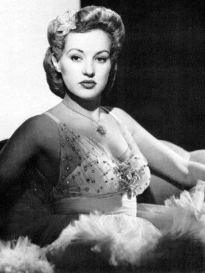 Betty Grable.: Nice Hair