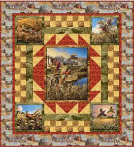 347 best Quilts Wildlife images on Pinterest | Panel quilts, Quilt ... : wildlife quilt fabric - Adamdwight.com