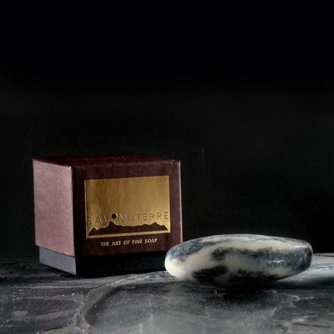 Riverbed Rock Stone Soap £19  Go with the flow of cinnamon, lavender, eucalyptus and peppermint essential oils.