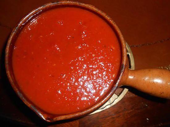 recette Sauce arrabiata