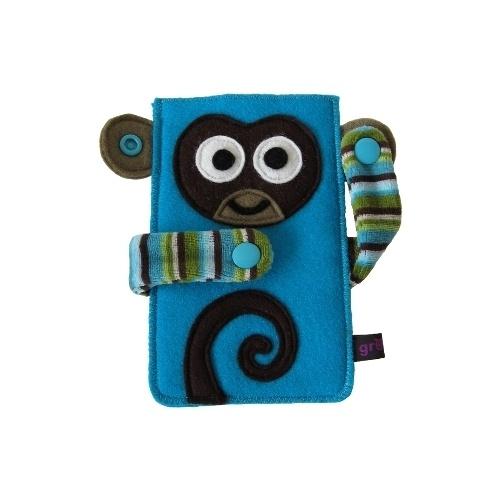 *Kikazaru '(niets) horen', is één van de drie wijze aapjes uit Japan.*    Kikazaru is een grappig tasje voor je mobiele telefoon, smartphone, iPod (Cl