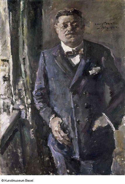 Bildnis des Reichspräsidenten Friedrich Ebert (Lovis Corinth, 1924, Kunstmuseum Basel)