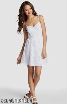 Nice casual white dresses for juniors 2017-2018