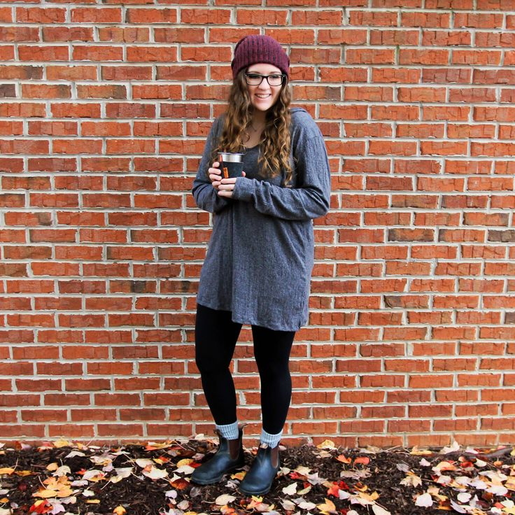 Agnes & Dora Favorite Hoodie / Knit Hooded Cover Up | Blundstone 500 Boots | Shining Light Apparel