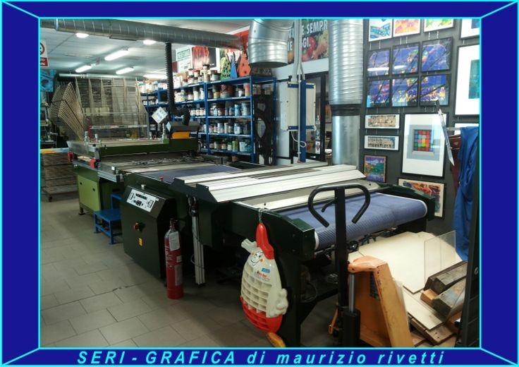 SERI-GRAFICA di maurizio rivetti Stampa serigrafica UV automatica e 3/4 automatica