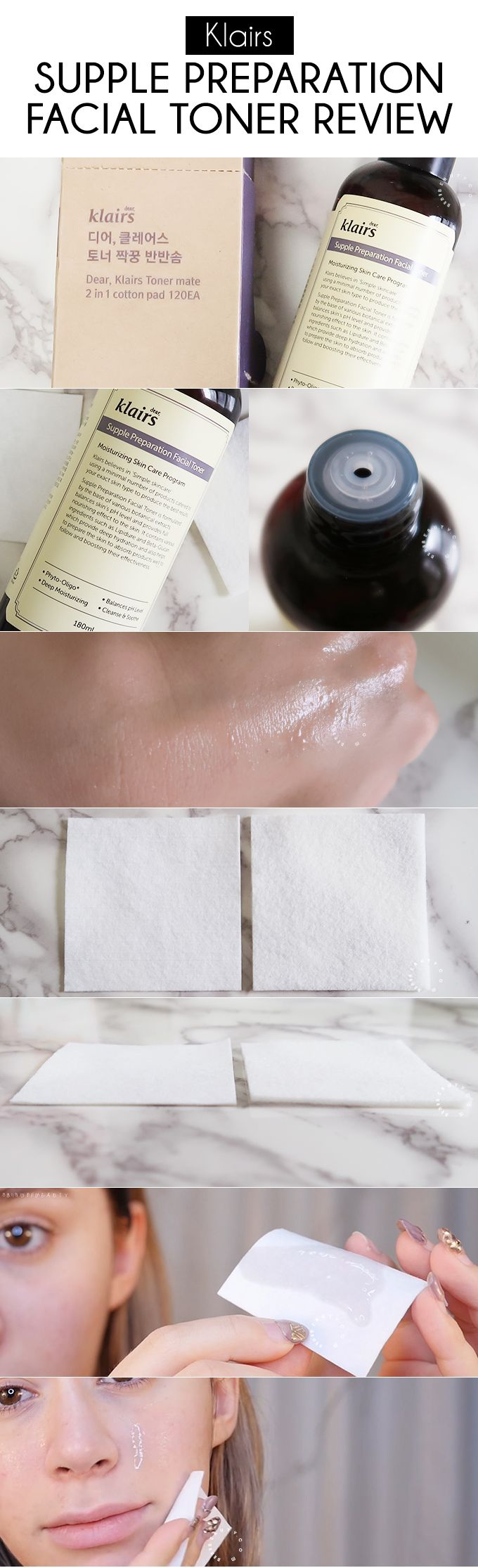 An in-depth Klairs Supple Preparation Facial Toner Review. Why this toner is ideal for all skin types, gentle and effective and shockingly amazing for skin! - http://www.wishtrendglam.com/klairs-supple-preparation-facial-toner-review/