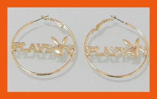 Playboy Hoop Earrings  http://www.intimatewhispers.com.au