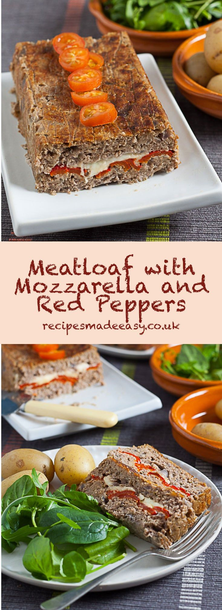 Meatloaf makes an economical and very tasty family meal. For this recipe, I have pimped a simple meatloaf recipe with the addition of mozzarella and peppers to add additional flavour, texture and colour. The recipe is still quick and easy to prepare but the end result is even better. This is comfort food at its best.  #picnic #easymeatloaf #easyrecipe #comfortfood  via @jacdotbee