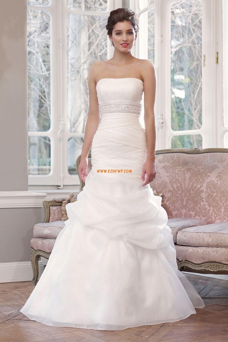 Vår 2014 Snöra upp Empire Lyx Bröllopsklänningar