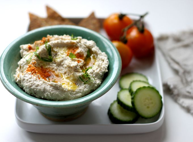 Waste Not, Want Not - Raw Nut Pulp Hummus - My New Roots