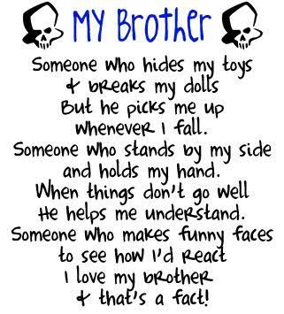 brother sister quotes - Google Search                                                                                                                                                                                 More