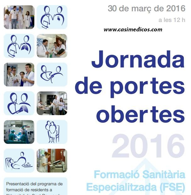 Jornada Puertas abiertas Hospital de la Santa Creu i Sant Pau 2016