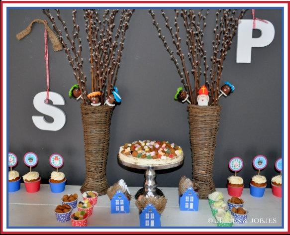 Sinterklaas tafel