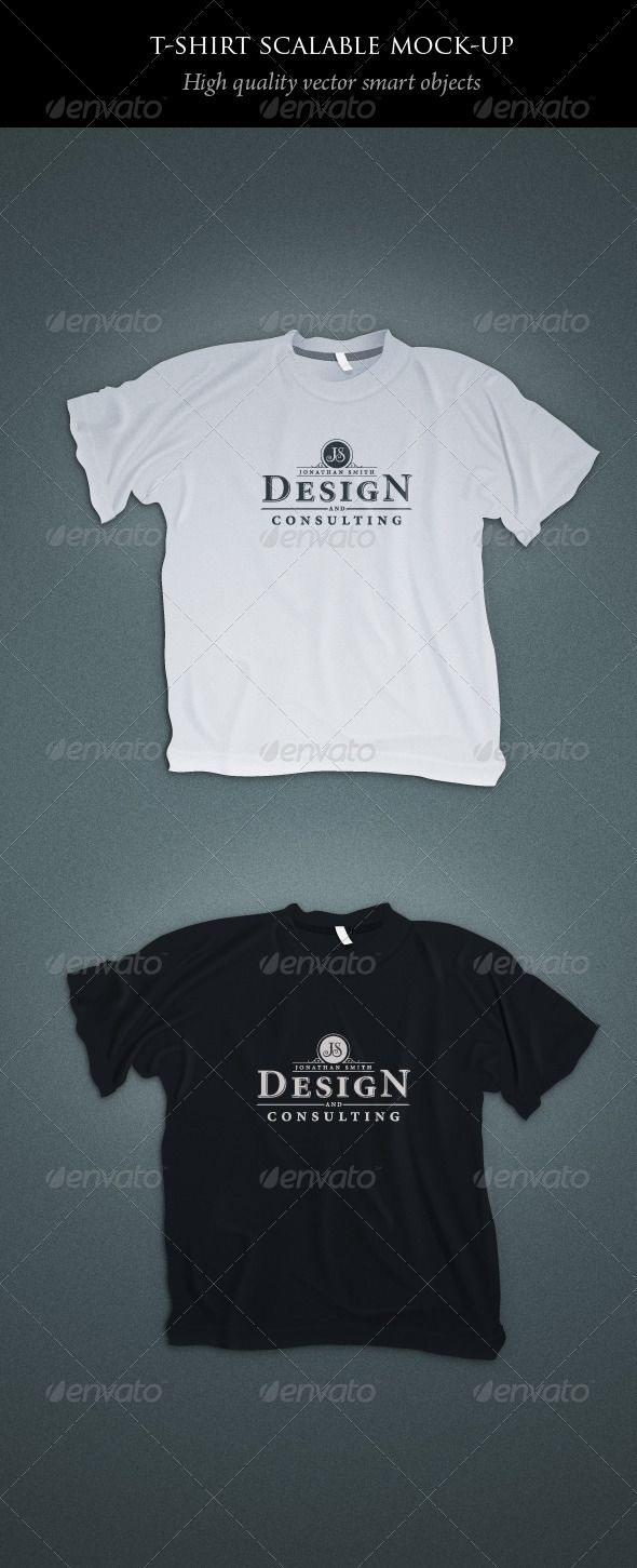 Scalable t shirt mockups more info - Scalable T Shirt Mockups
