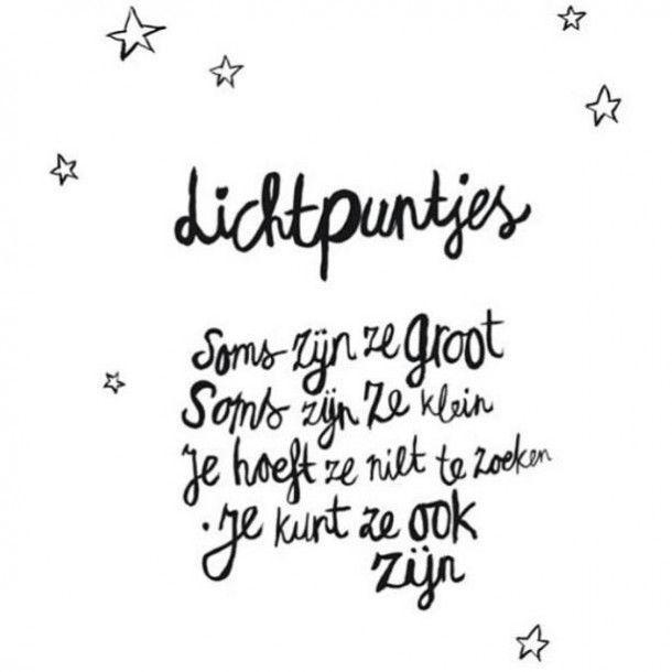 Lichtpuntjes. Gedicht Atelier Sukha Amsterdam. Quote print art