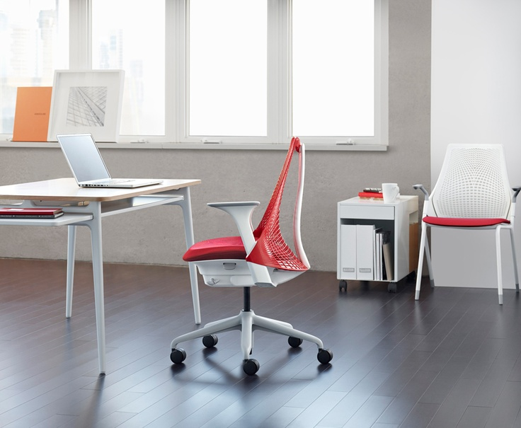 Lovely Yves Béhar Drew Inspiration From San Franciscou0027s Golden Gate Bridge To  Create An Affordable, High Design Office Desk Chair. Amazing Pictures