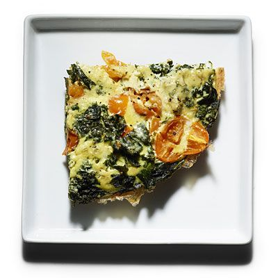 Braised Kale Frittata with tomatoes (high protein! low carbs!)   health.com