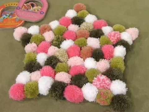 Manualidades y Artesanías | Pompones de lana | Utilisima.com