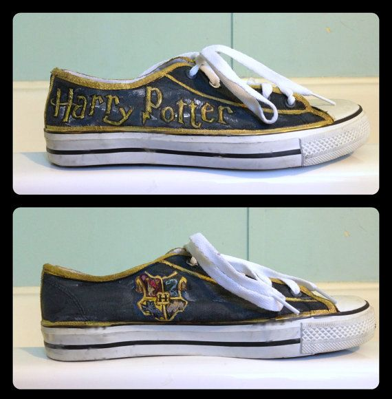 Women's Harry Potter Shoes by RisingRedFox on Etsy, $75.00