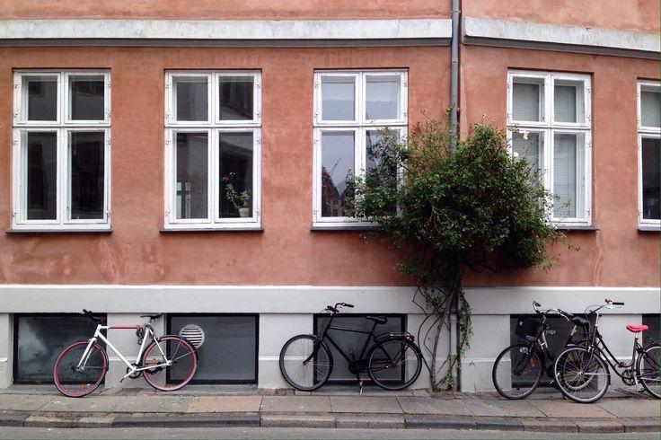 Facade in the center of Copenhagen