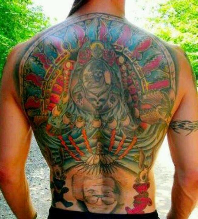 Grateful dead tattoo be grateful pinterest grateful for Tattoo grand rapids mn