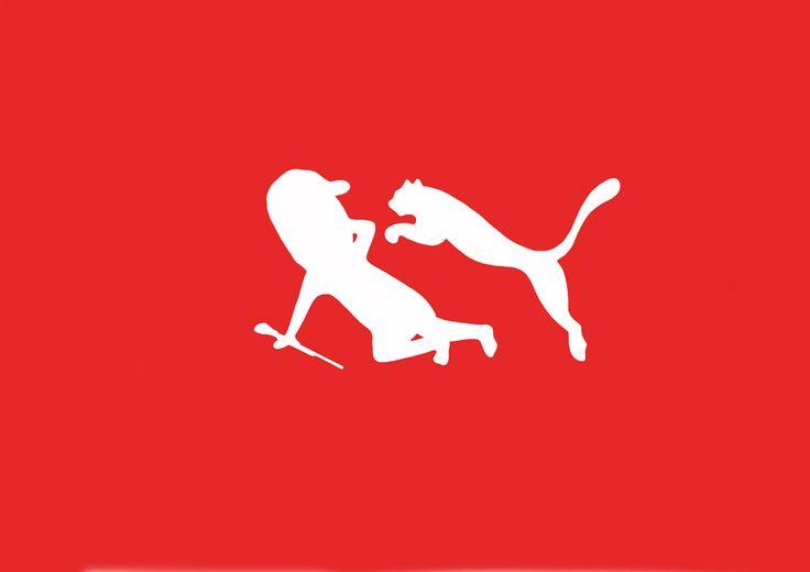 Diseño divertido: logos famosos en situaciones chuscas
