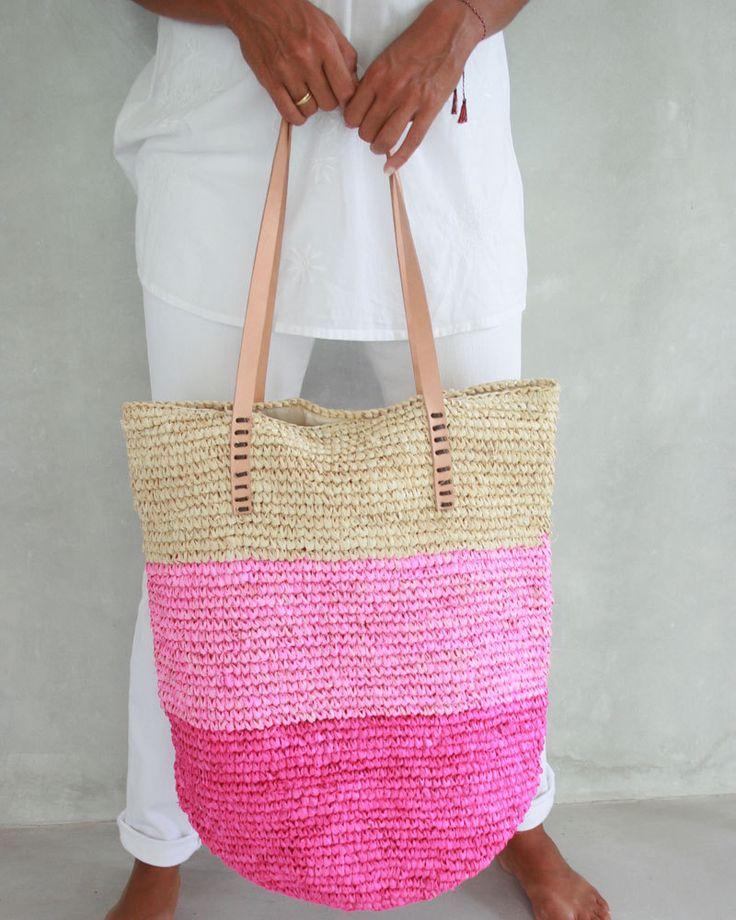 Straw Handbag, Resort Bag, Beach Baskets