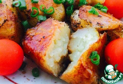 запеченный картофель с травами!