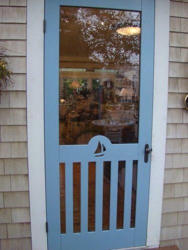 29 best sliding barn doors images on pinterest reclaimed for Barn door screen door