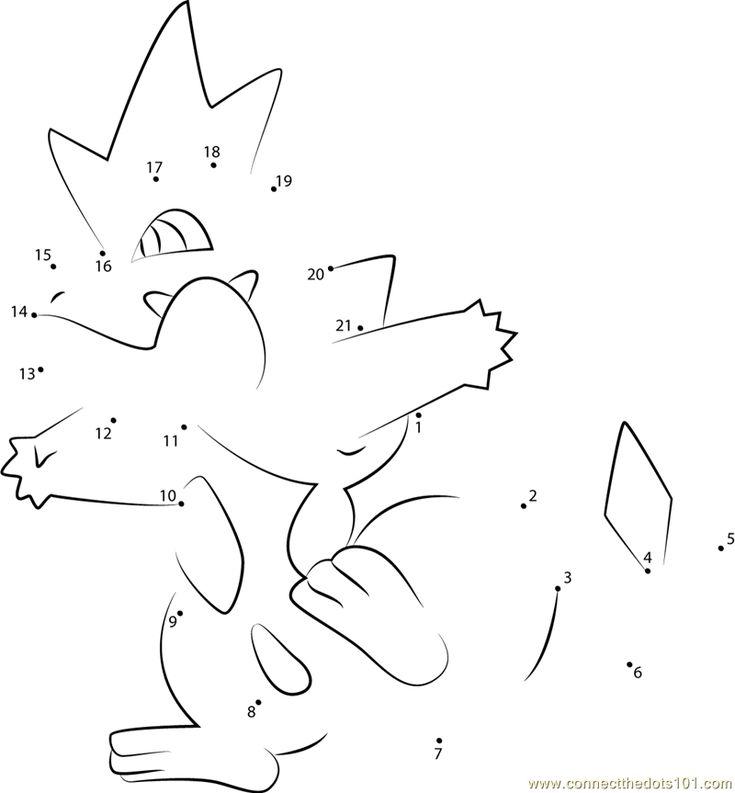 Hard Dot To Pokemon Images