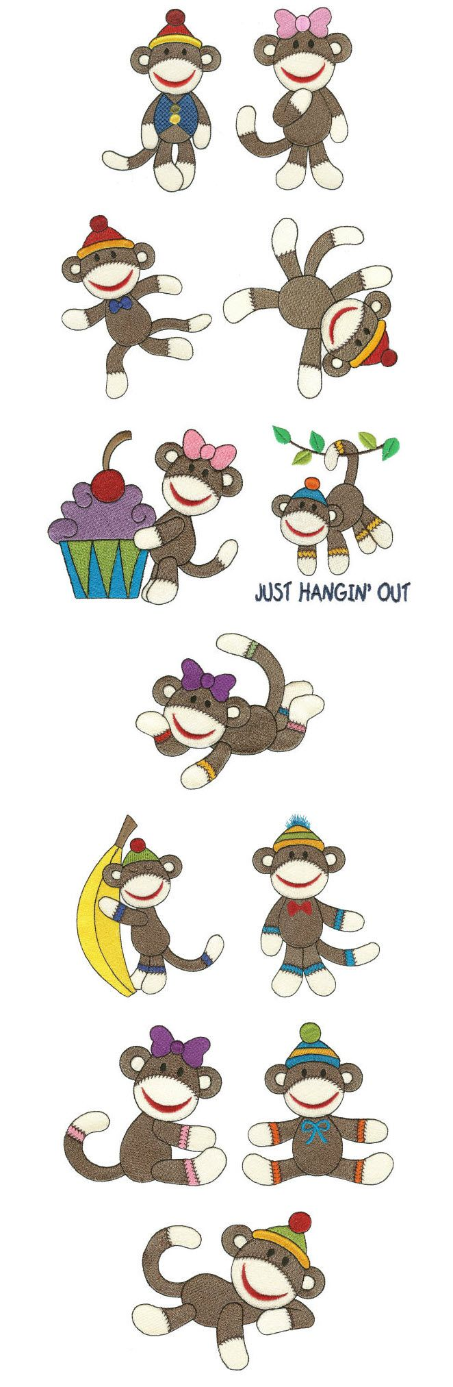 110 Best Sock Monkey Cards Images On Pinterest Sock Monkeys Cards