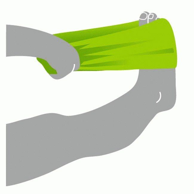 Übung gegen Fersensporn