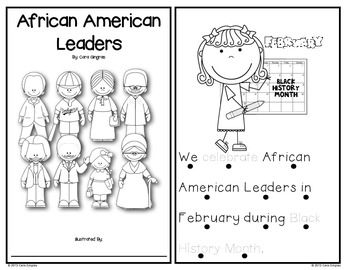 African American Leaders - Emergent Reader and Activities - This is a product that focuses on celebrating African Americans. I use this during Black History Month. I have worked to make the vocabulary in the reader on level that K/1/2 will understand. $