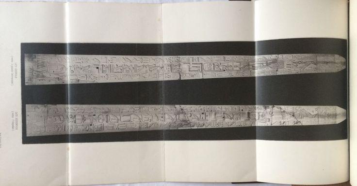 Gli obelischi Egiziani di Roma. Illustrati con traduzione dei testi geroglifici. MARUCCHI Oracio