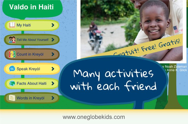 One Globe Kids is the first learning experience that uses class room technology to develop empathy for peers that have different (and often also very similar!) daily lives. Great for Closed Reading! www.oneglobekids.com