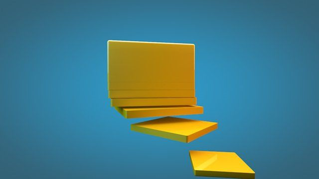 Cinema 4D Tutorial: Learn how to slice stuff in cinema 4d using different modeling tools and move them in harmony using Xpresso and different mogaph tools